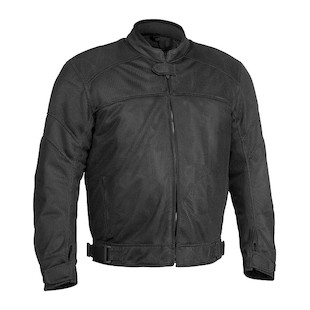 River Road Sedona Mesh Jacket (Color: Black / Size: 2XL) 710273