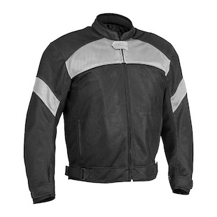 River Road Sedona Mesh Jacket (Color: Black/Grey / Size: 3XL) 710280