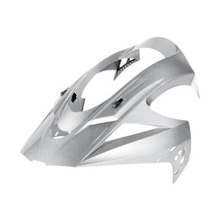 Icon Variant Solid Visor (Color: Silver) 604605