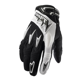 Shift Hybrid X Gloves (Color: Black/White / Size: XL) 749426
