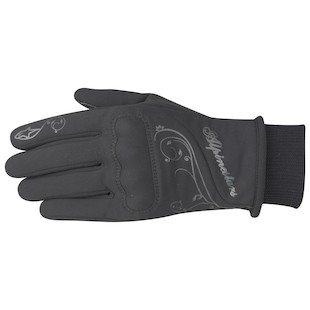 Alpinestars Stella C1 Windstopper Gloves (Color: Black / Size: MD) 761531