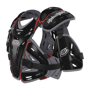 Troy Lee Youth CP 5955 Chest Protector (Color: Black / Size: YTH) 766397