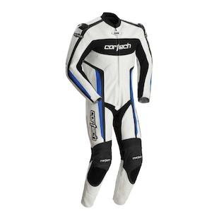 Cortech Latigo RR 1-Piece Race Suit (Color: White/Blue / Size: XL) 773322