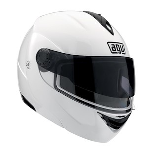 AGV Miglia 2 Helmet [Size LG Only] (Color: Silver / Size: LG) 735511