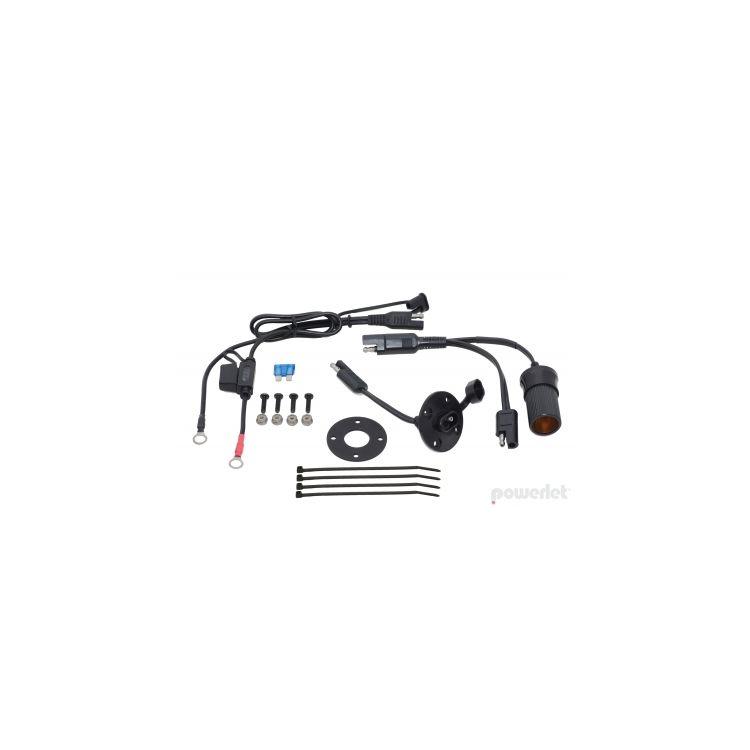 Powerlet Basic Luggage Electrix Tankbag & Saddlebag Power Kit