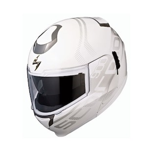 Scorpion EXO-900 Transformer Furtive Helmet (Color: White / Size: XL) 784077