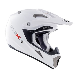 AGV MT-X Helmet - Solid (Size XL Only) (Color: White / Size: XL) 735948