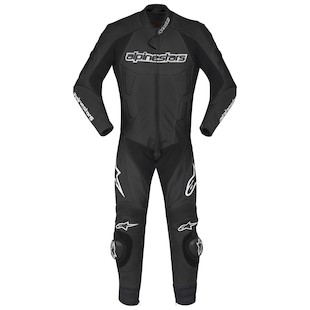 Alpinestars Carver Race Suit (Color: Black / Size: 64) 799355