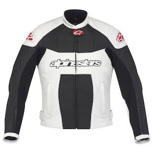 Alpinestars Stella GP Plus Jacket (Size 46 Only) (Color: Black/White / Size: 44) 799205