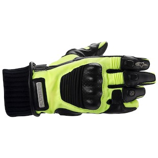 Alpinestars Arctic Drystar HV Gloves (Color: Black/Hi-Viz Yellow / Size: MD) 799137