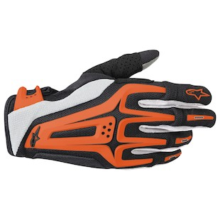 Alpinestars Dual Gloves - (Sz SM Only) (Color: Black/Orange / Size: SM) 799153