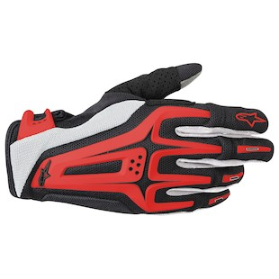 Alpinestars Dual Gloves (Color: Black/Red / Size: SM) 799158