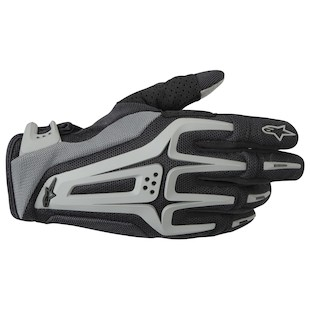 Alpinestars Dual Gloves (Color: Black/Grey / Size: 2XL) 799152