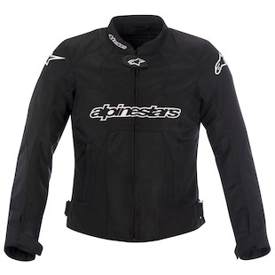 Alpinestars Stella T-GP Plus Air Jacket (Color: Black/Black / Size: LG) 799717