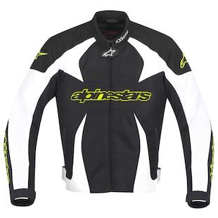 Alpinestars T-GP Plus Air Jacket (Color: Black/White/Hi-Viz Yellow / Size: 4XL) 799633