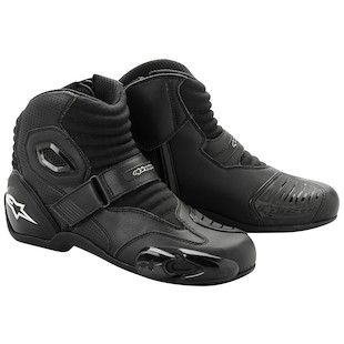 Alpinestars S-MX 1 Boots (Color: Black / Size: 38) 799012