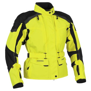 Firstgear Kilimanjaro Women's Jacket (Hi-Viz/Black Size XS Only) (Color: Hi-Viz/Black / Size: WXS) 800612