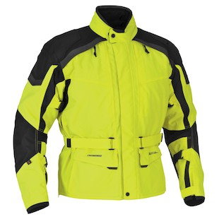 Firstgear Kilimanjaro Jacket (Color: Hi-Viz/Black / Size: LG (Tall)) 800617