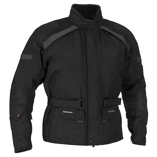 Firstgear Kilimanjaro Jacket (Color: Black / Size: 4XL) 800661
