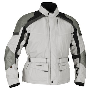 Firstgear Kilimanjaro Jacket (Color: Silver/Dark Grey / Size: MD) 800596