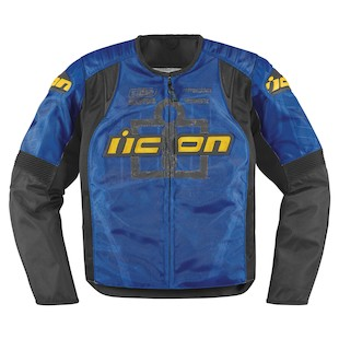 Icon Overlord Type 1 Jacket (Color: Blue / Size: SM) 800177