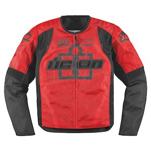 Icon Overlord Type 1 Jacket (Color: Red / Size: SM) 800183