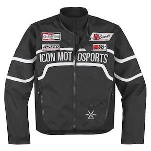 Icon Brawnson Sidewinder Jacket (Color: Black / Size: SM) 800126
