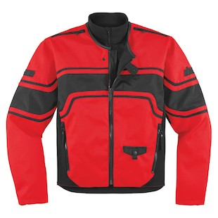 Icon Brawnson Jacket (Color: Red / Size: LG) 800154