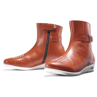 Icon Sacred Low Women's Boots - (Size 5.5 Only) (Color: Brown / Size: 5.5) 800074
