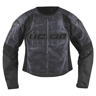 Icon Overlord Type 1 Women's Jacket (Color: Black / Size: 2XL) 800294