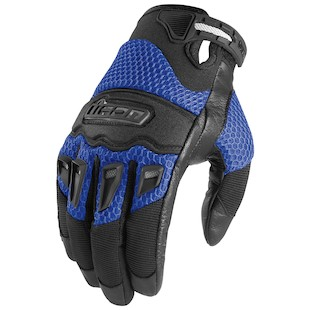 Icon Twenty-Niner Gloves (Color: Blue / Size: SM) 419018