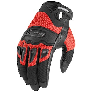 Icon Twenty-Niner Gloves (Color: Red / Size: SM) 419024