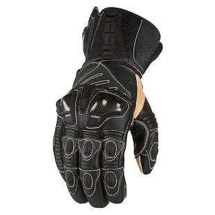 Icon Overlord Long Gloves (Color: Black / Size: 2XL) 722676