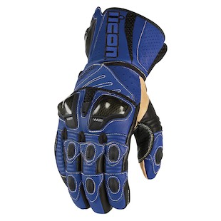 Icon Overlord Long Gloves (Color: Blue / Size: XL) 722687