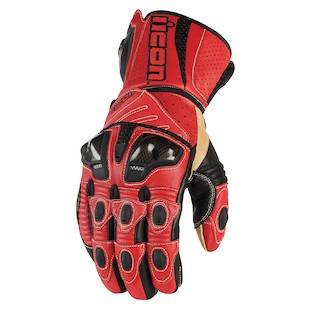 Icon Overlord Long Gloves (Color: Red / Size: LG) 722691