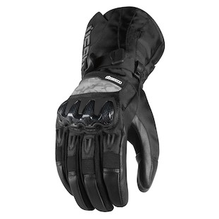 Icon Patrol Waterproof Gloves (Color: Black / Size: MD) 722701