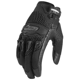 Icon Twenty-Niner Women's Gloves (Color: Black / Size: LG) 419045
