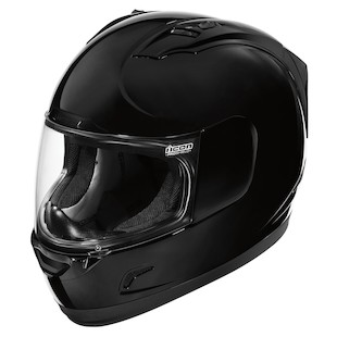 Icon Alliance Helmet - Solid (Color: Black / Size: XS) 717682