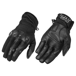 Firstgear Mesh Tex Gloves (Color: Black / Size: SM) 800566