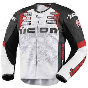 Icon Overlord Prime Hero Leather Jacket (Color: Crusader / Size: XL) 764542