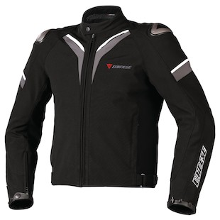 Dainese Aspide Textile Jacket [Size 56 Only] (Color: Black/Black/Dark Grey / Size: 56) 807069