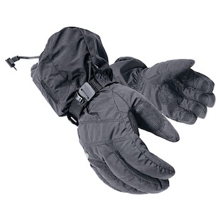 Mobile Warming Textile Heated Gloves (Color: Black / Size: 3XL) 797400