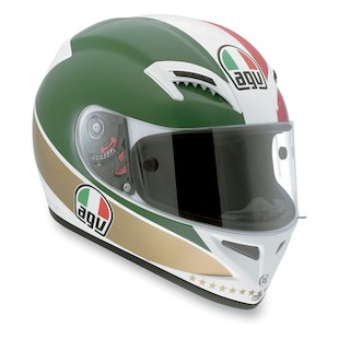AGV Grid Agostini Replica Helmet (Size XS Only) (Color: Green/White/Red / Size: XS) 813377
