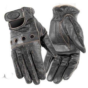 River Road Outlaw Vintage Gloves (Size: MD) 141660