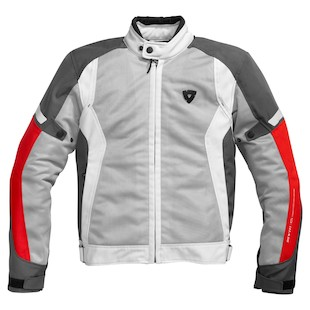 REV'IT! Airwave Jacket (Color: Silver/Red / Size: LG) 815203