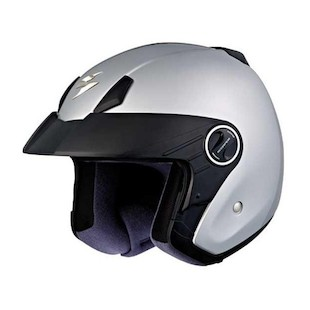 Scorpion EXO-250 Helmet - Solid (Color: Light Silver / Size: XS) 818655