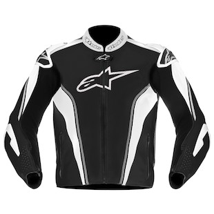 Alpinestars GP Tech Air Leather Jacket (Color: Black/Grey/White / Size: 56) 818729
