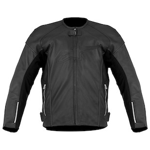 Alpinestars TZ-1 Reload Leather Jacket (Color: Black / Size: 56) 818743