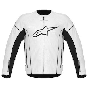 Alpinestars TZ-1 Reload Leather Jacket (Color: Black / Size: 56) 818743