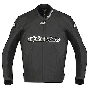 Alpinestars GP Plus Perforated Leather Jacket (Color: Black / Size: 52) 819163